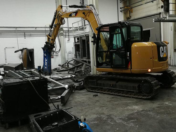 Demontage Stahlbau